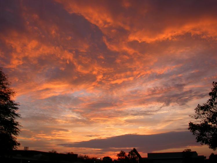 red sky at morning summary