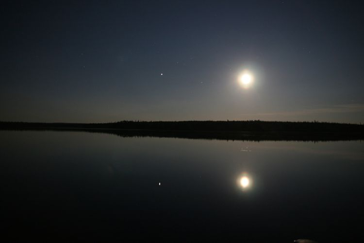 20090714 - Fishing for the Moon and Jupiter