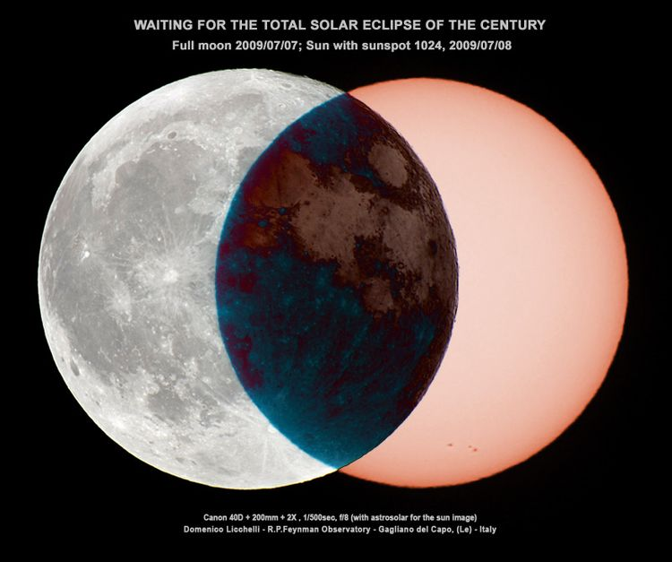 20090721 - Simulated Total Solar Eclipse of July 22, 2009