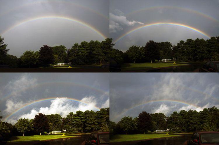 20090901 - Morning Rainbow Progression