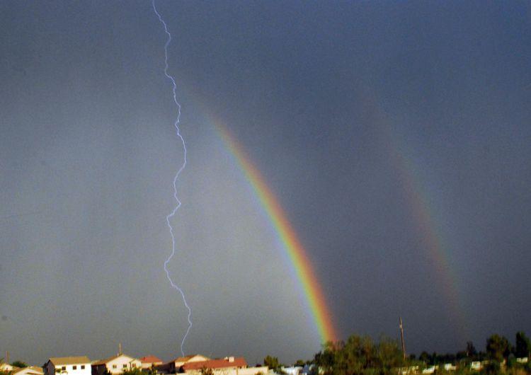 Rainbowandlightning